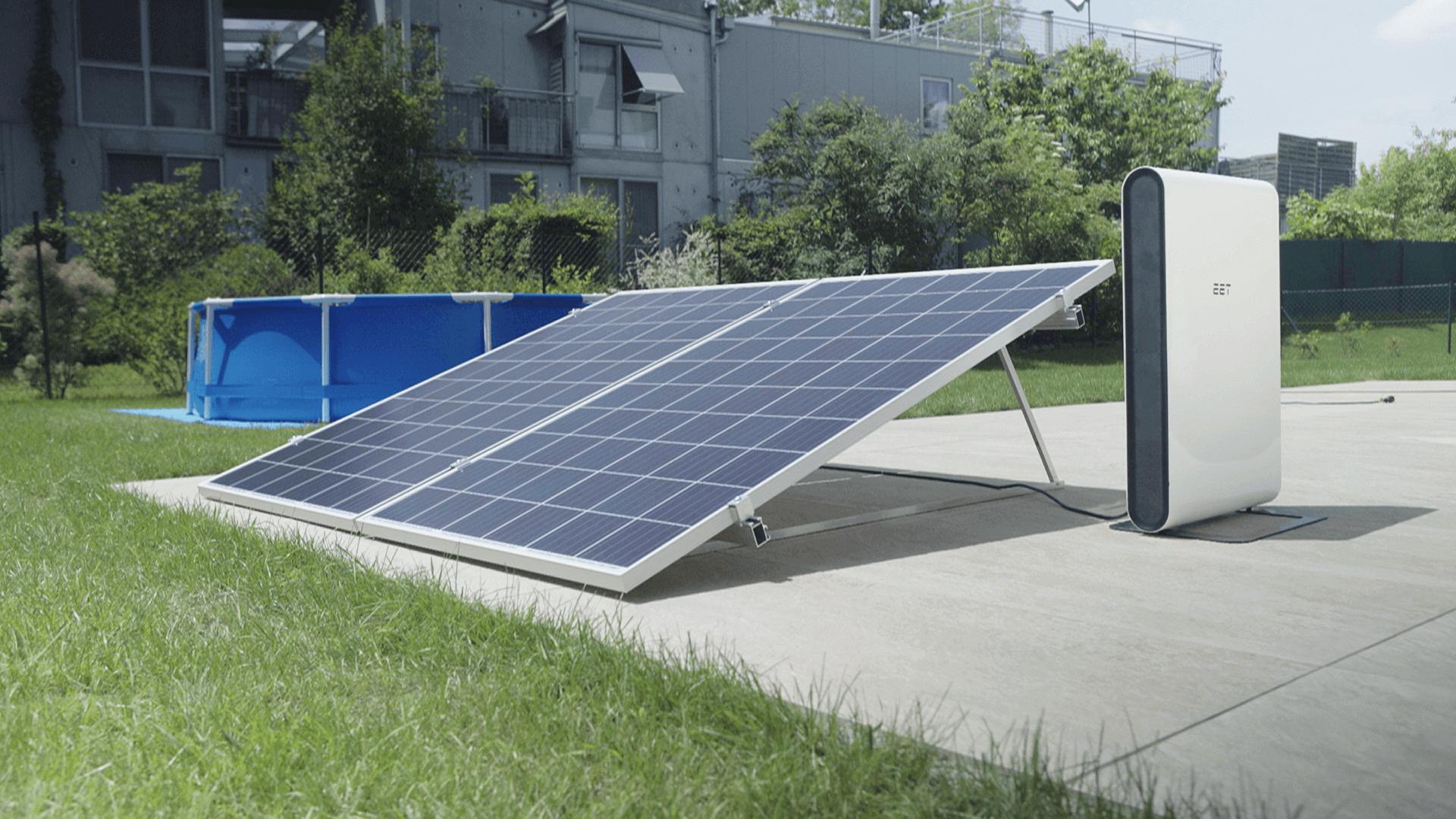 Solmate G Kaufen Solaranlage Im Garten Experts4energy
