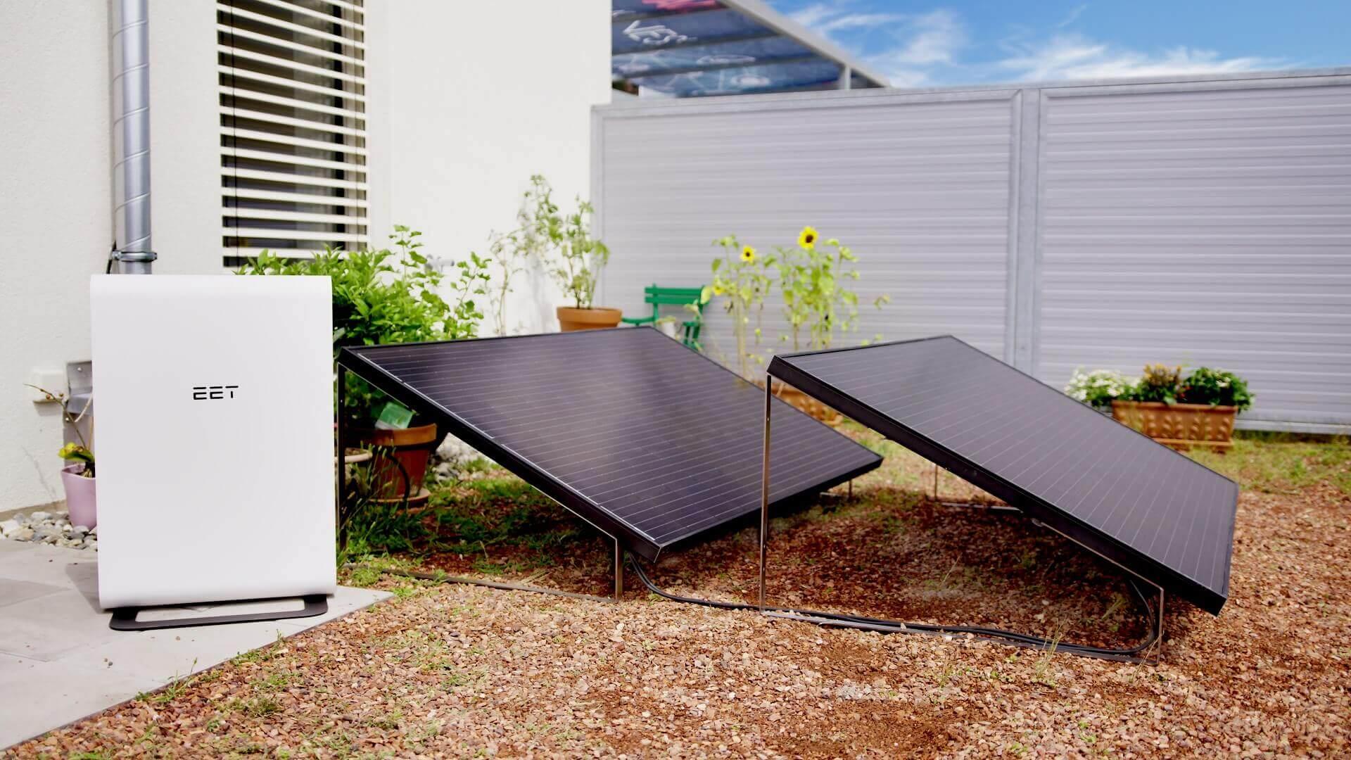 Plug & Play Solaranlage für den Garten: EET SolMate G bei den Experts4Energy